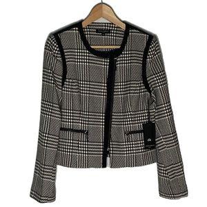 Mario Serrani Houndstooth Blazer Jacket